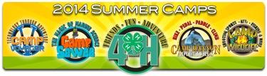 Clemson University Summer Camps Logos