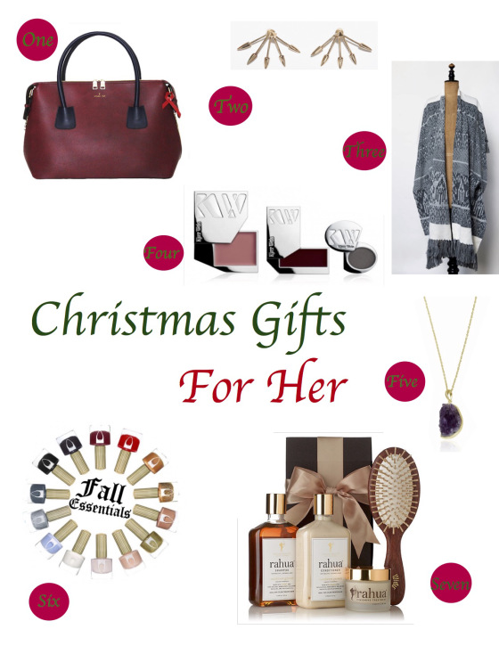 christmas gifts for her | beautifully green life | beautifullygreenlife.com