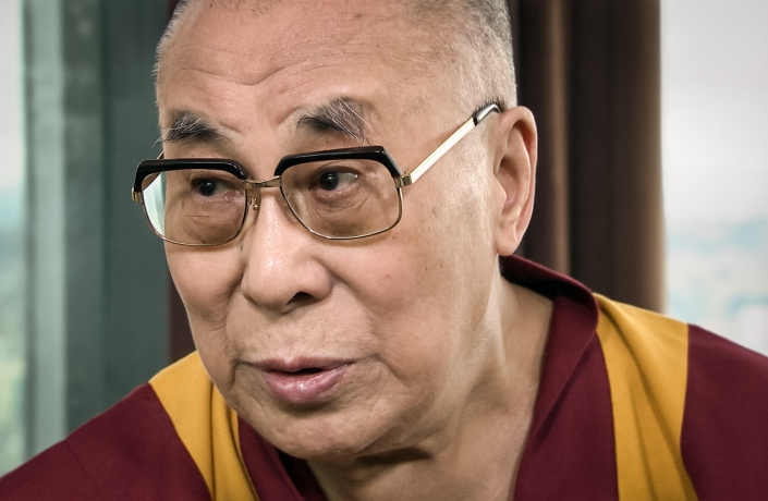 Dalai Lama in conversation with Chris Anderson.